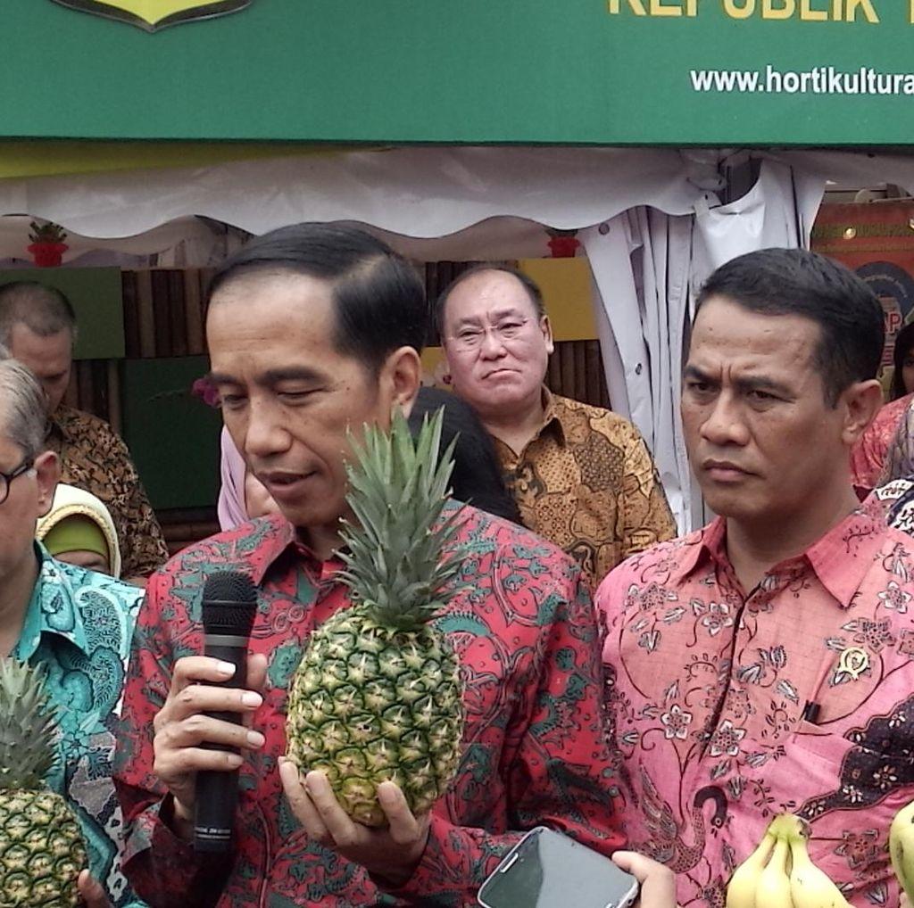 Jokowi: Di Abu Dhabi Banyak Dijual Buah Indonesia, Kenapa Kita Impor?