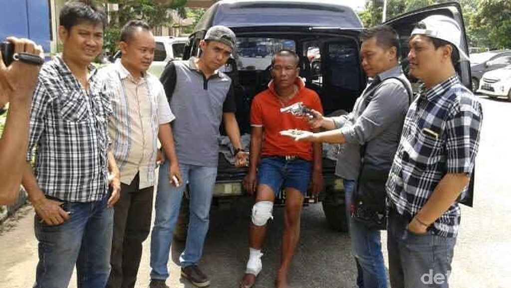 Nadi Ditembak Setelah Melawan Polisi Dengan Senpi Rakitan