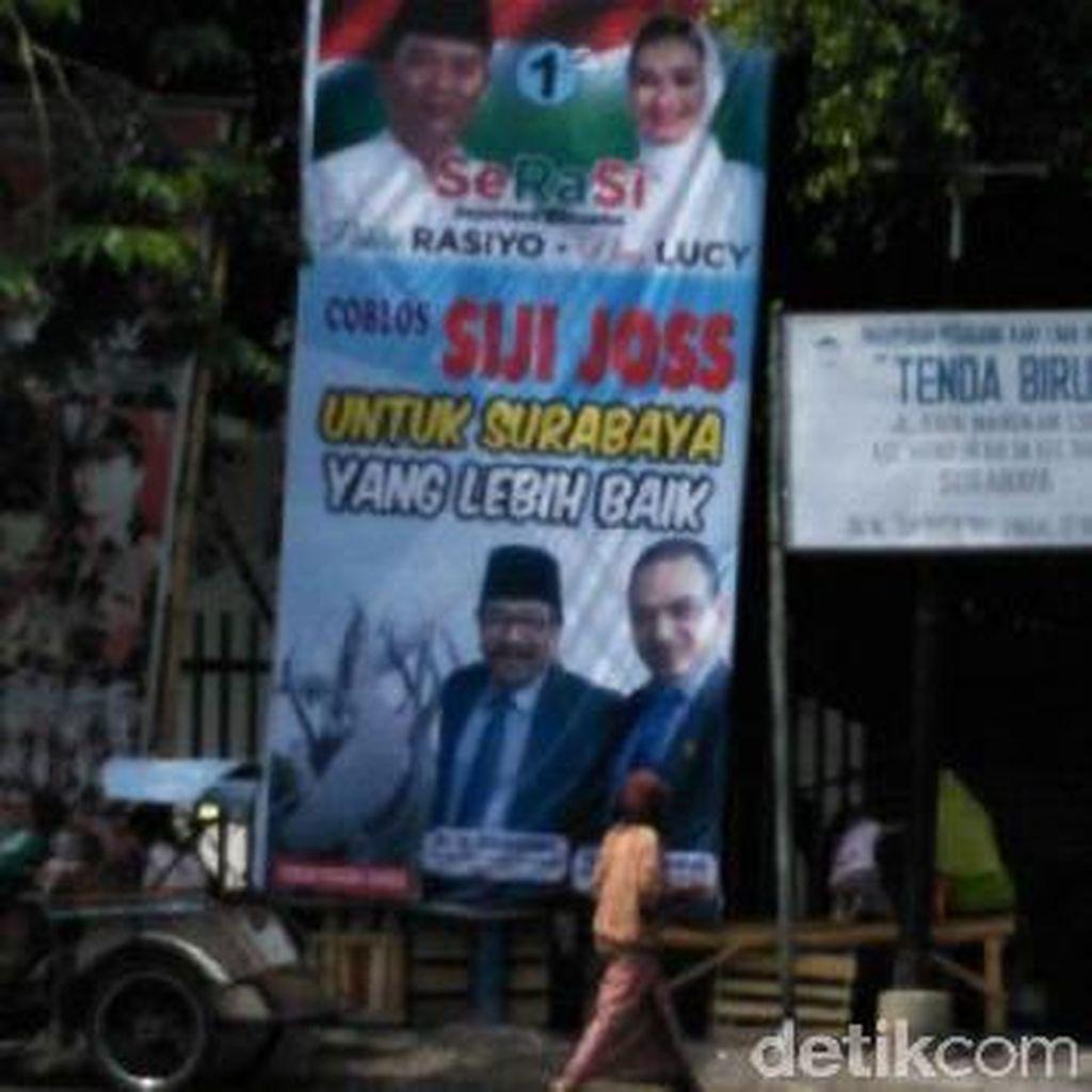 Tim Rasiyo-Lucy Kembali Disemprit Panwas Pilkada Surabaya