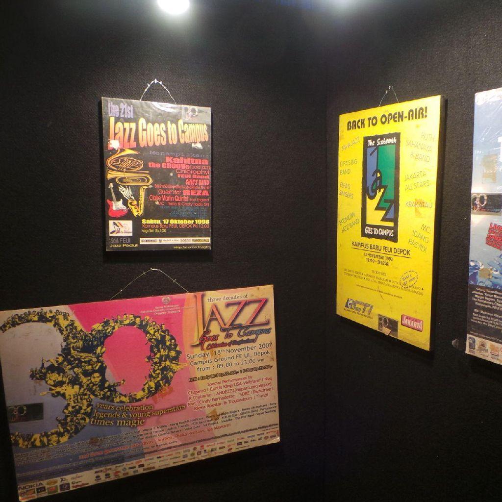 Belajar Sejarah Jazz di Museum Jazz di JGTC 2015