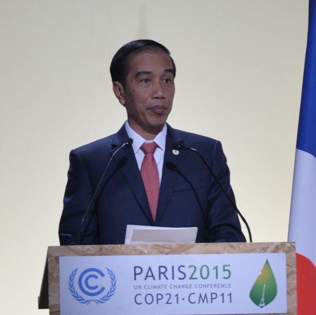 Jokowi: Kesepakatan Paris Jangan Menghambat Pembangunan Negara Berkembang
