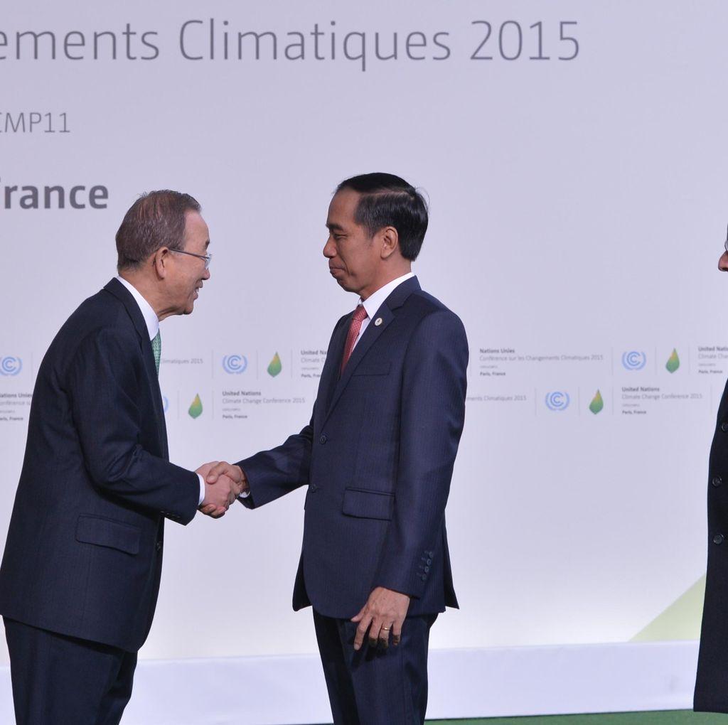 Jokowi: Sebagai Paru-paru Dunia, RI Memilih Jadi Solusi Perubahan Iklim