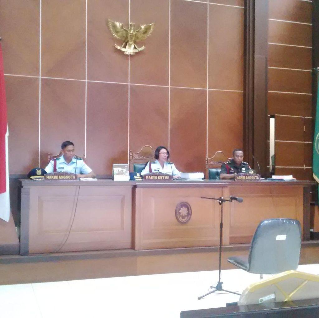 4 Anggota TNI AU Jadi Saksi Sidang Kasus Pengeroyokan Serma Zulfikli