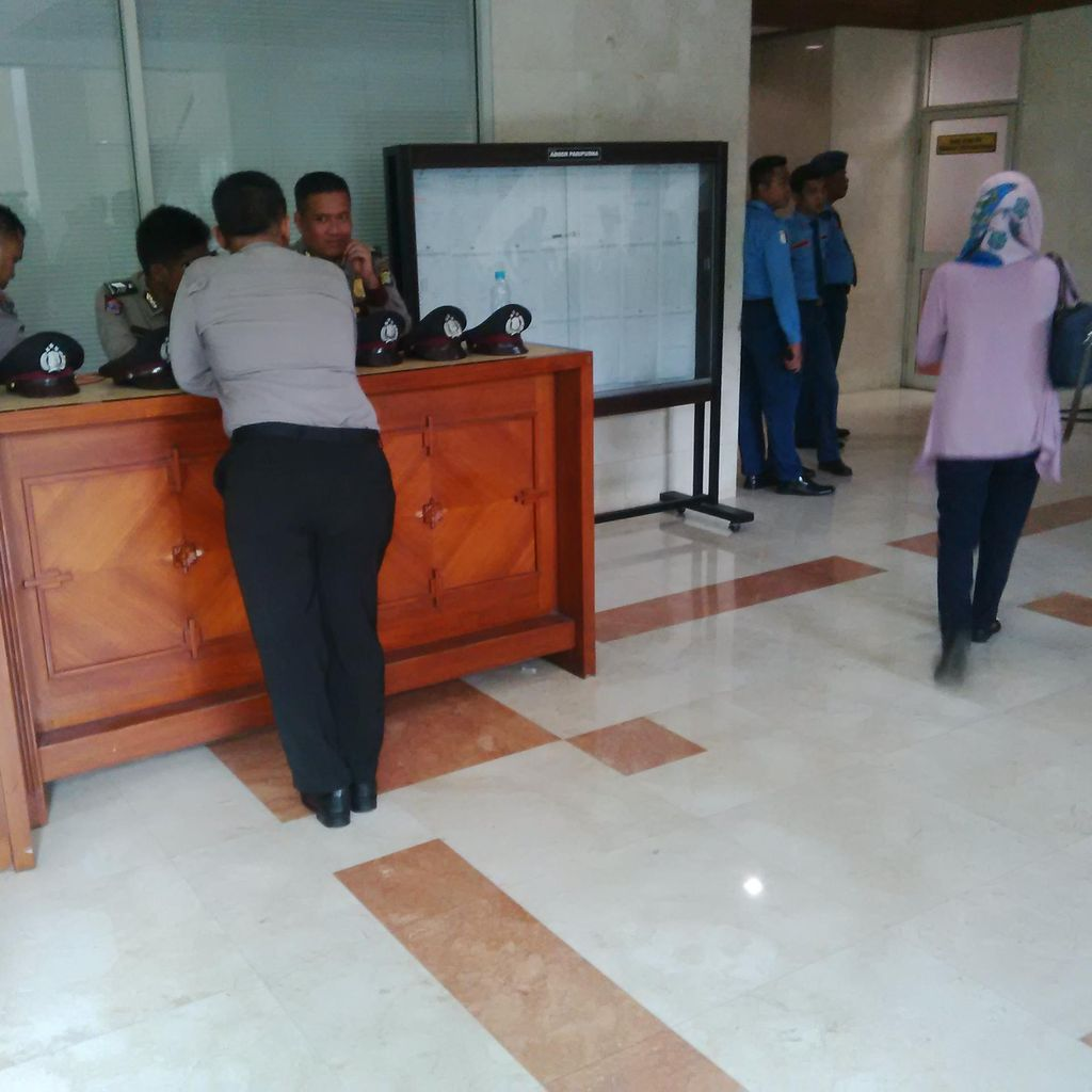 Polisi Ikut Jaga MKD, Amankan Jalannya Sidang Novanto