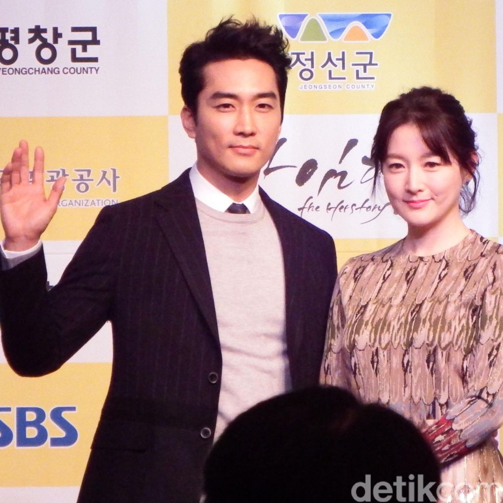 Bertemu Song Seung Hun dan Lee Young Ae di Korea