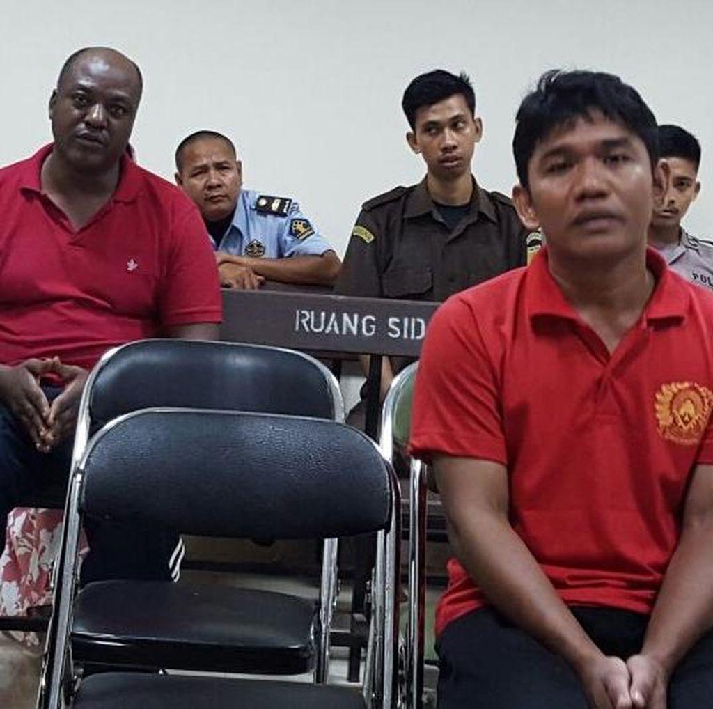 Di Bogor, Napi WN Nigeria dan WNI Divonis Mati karena Edarkan Sabu 8 Kg