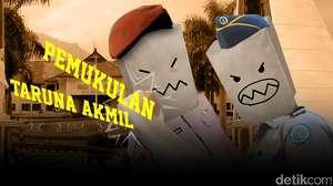 Taruna Akmil Dipukul Senior IPDN
