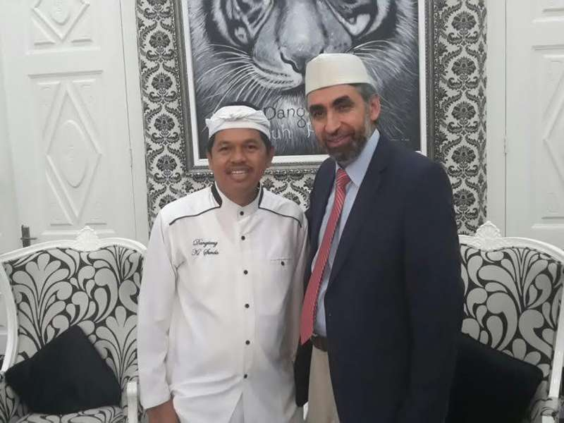 Salam Sampurasun dari Imam Besar Masjid Amerika