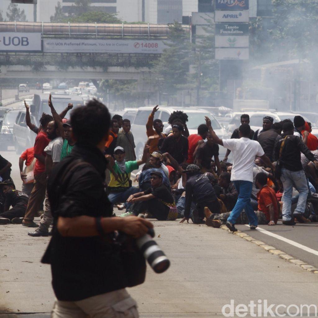 Cerita Pedagang Batu Akik yang Ikut Kena Ciduk Polisi Saat Demo Massa Papua di HI