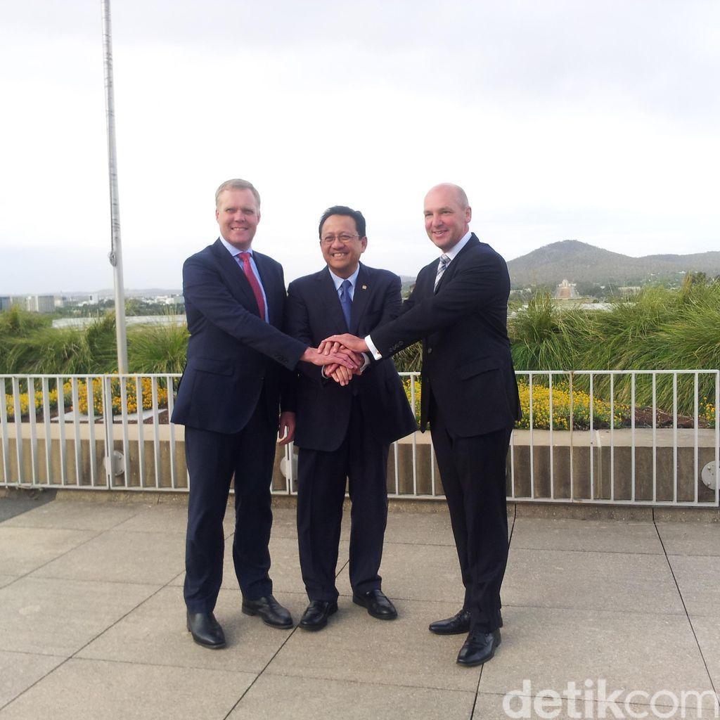 DPD RI Tinjau Sidang Parlemen Australia yang Sarat Adu Argumen