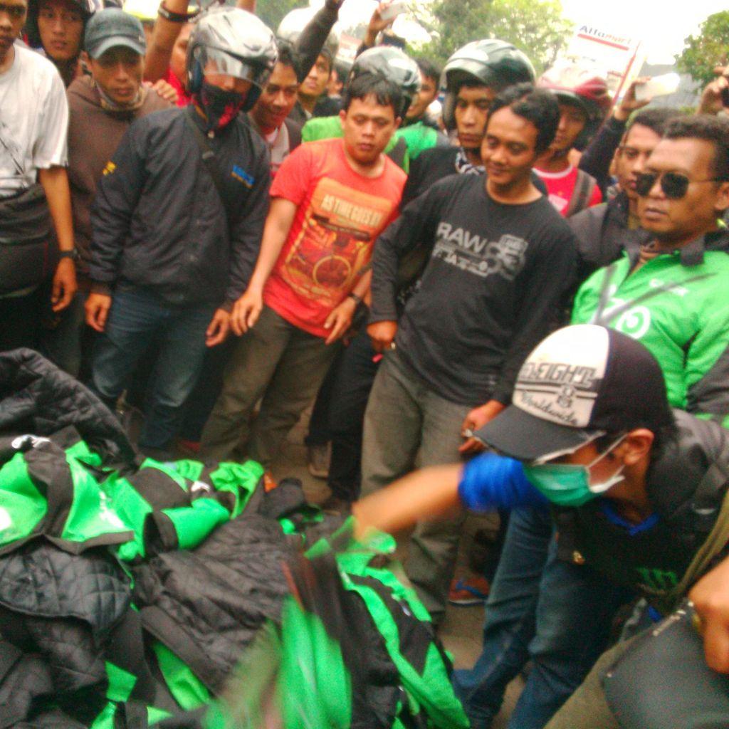 Demo Bubar, ini Pilihan Sule Driver Go-Jek Bandung Jika Nihil Solusi