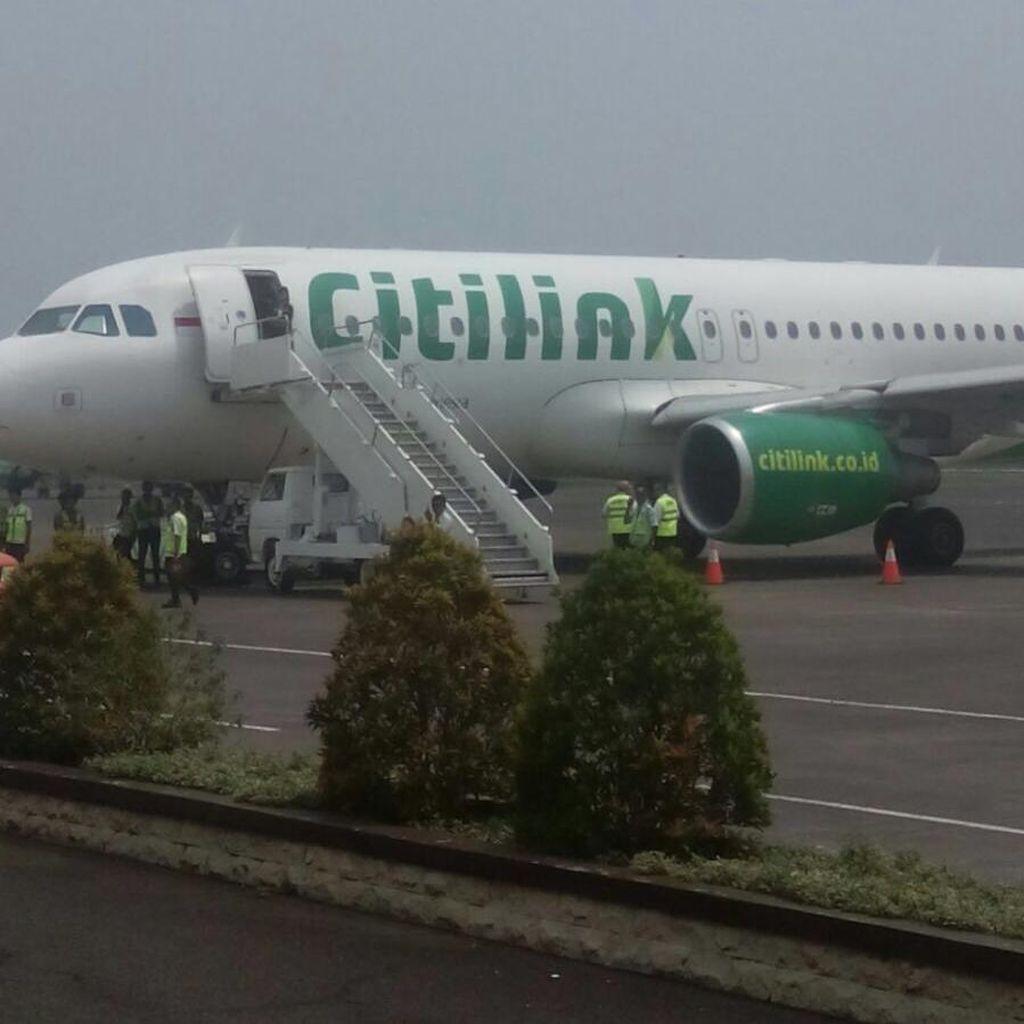 Citilink di Halim Batal Take Off Tiba-tiba karena Perintah Otoritas Bandara