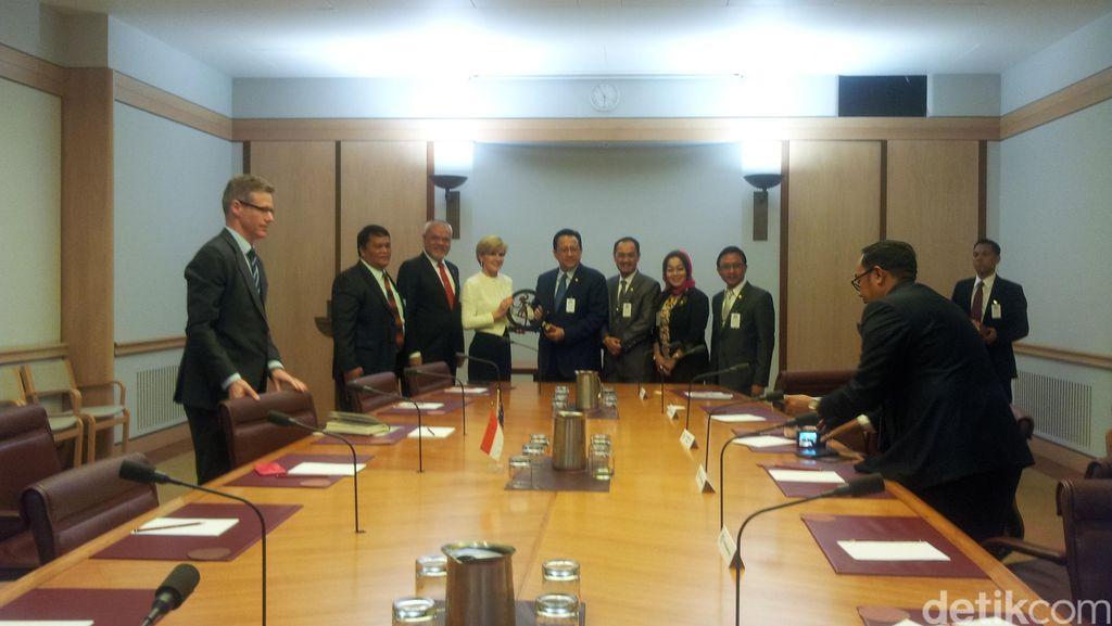Bertemu DPD RI, Menlu Australia Tegaskan Dukung NKRI Terkait Papua