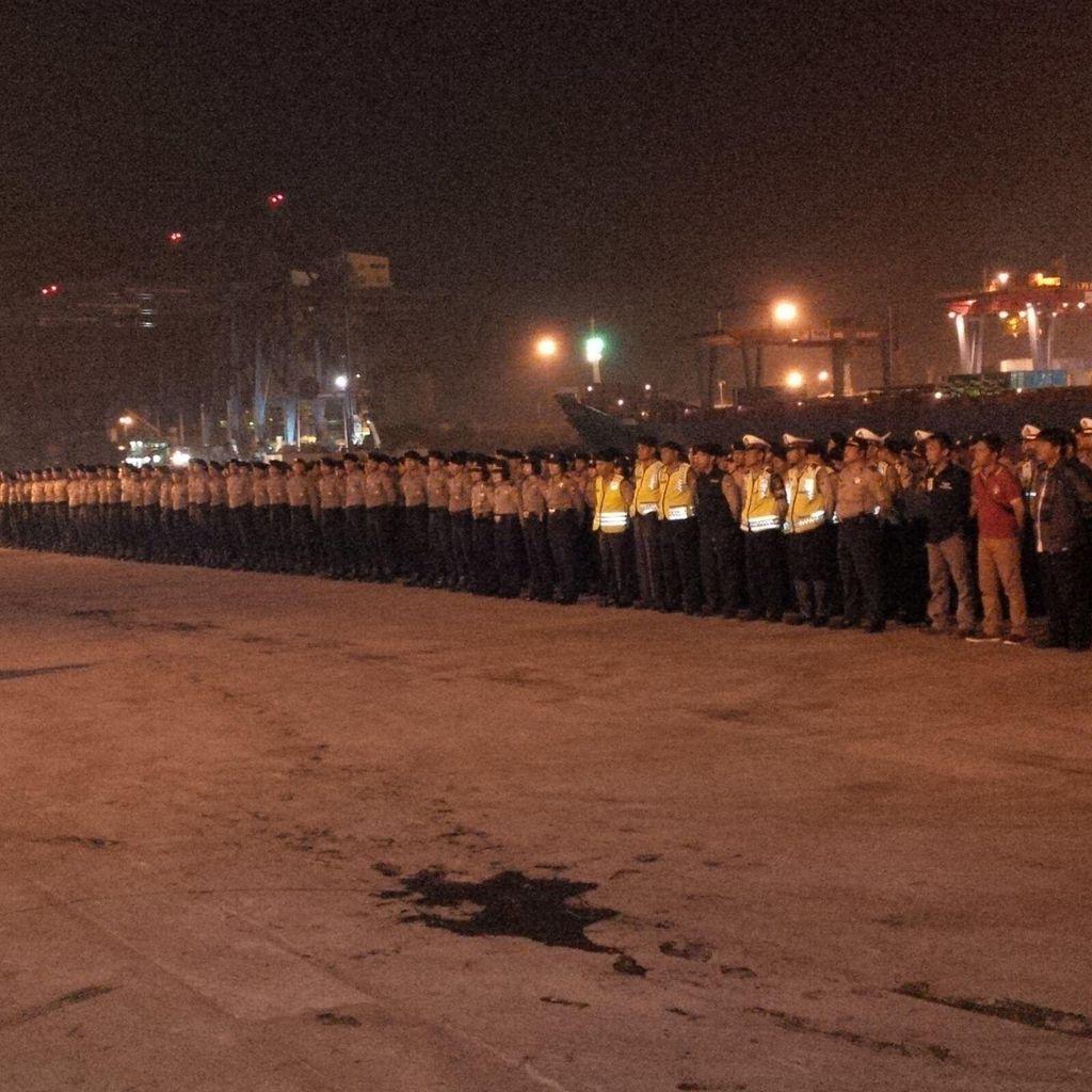700 Polisi di Pelabuhan Priok Bersiaga Amankan Kepulangan Massa HMI dari Riau