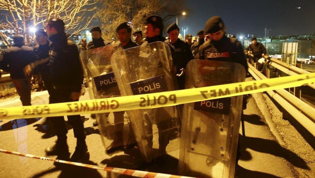 Bom Pipa Meledak di Stasiun Kereta di Istanbul, 5 Orang Terluka