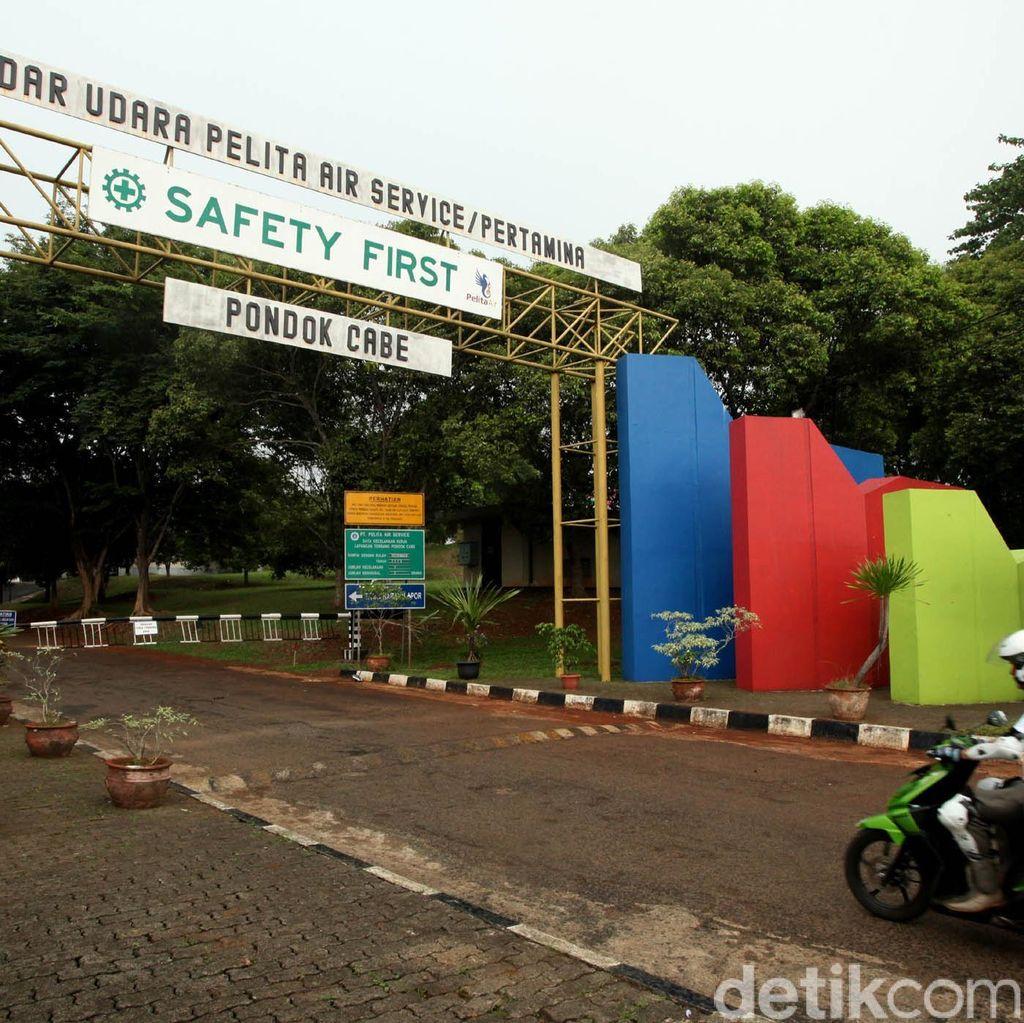Layani Komersial, Pengelolaan Bandara Pondok Cabe Disatukan dengan Halim