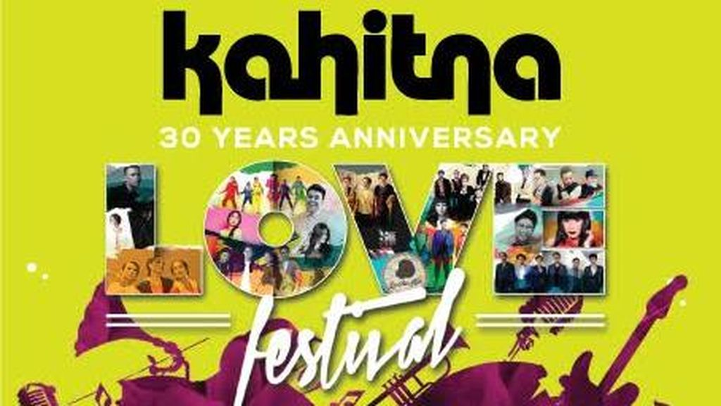 Ratusan Orang Mulai Padati Area Konser 30 Tahun Kahitna