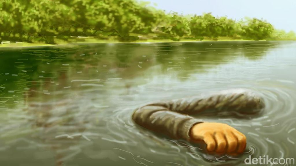 Seorang Nenek Hanyut di Sungai Usai Berkebun di Semarang