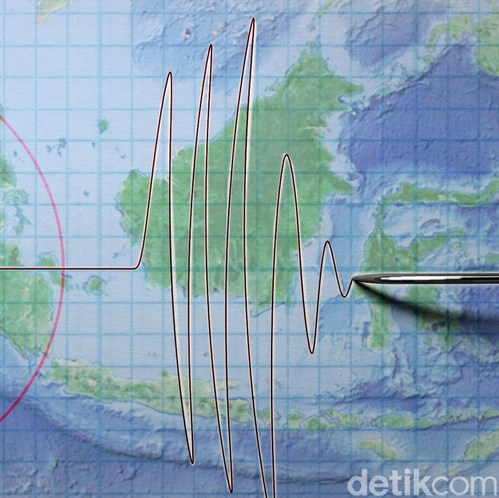 Gempa 5.1 SR Guncang Maluku, Tidak Berpotensi Tsunami