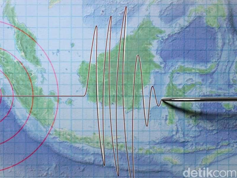 Gempa Bumi 5,1 SR Guncang Papua Barat, Tak Berpotensi Tsunami