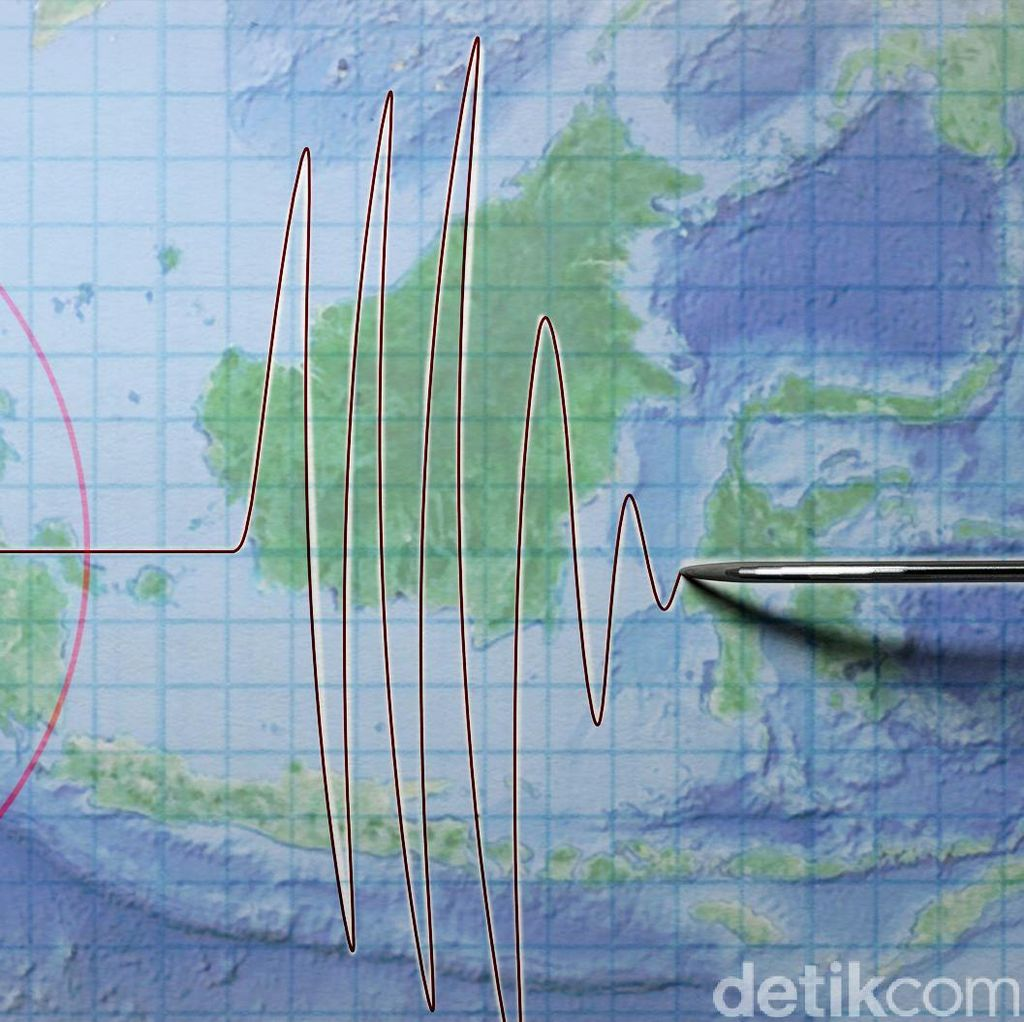 Gempa 6,1 SR Guncang Tanggamus Lampung