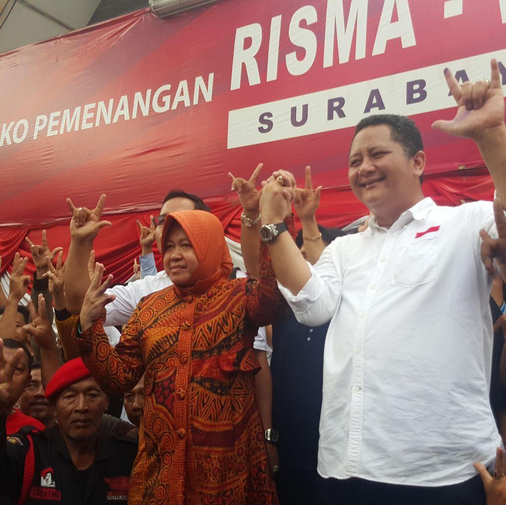 Risma-Whisnu akan Gelar Pesta Rakyat di 154 Titik dan Balai Kota Surabaya