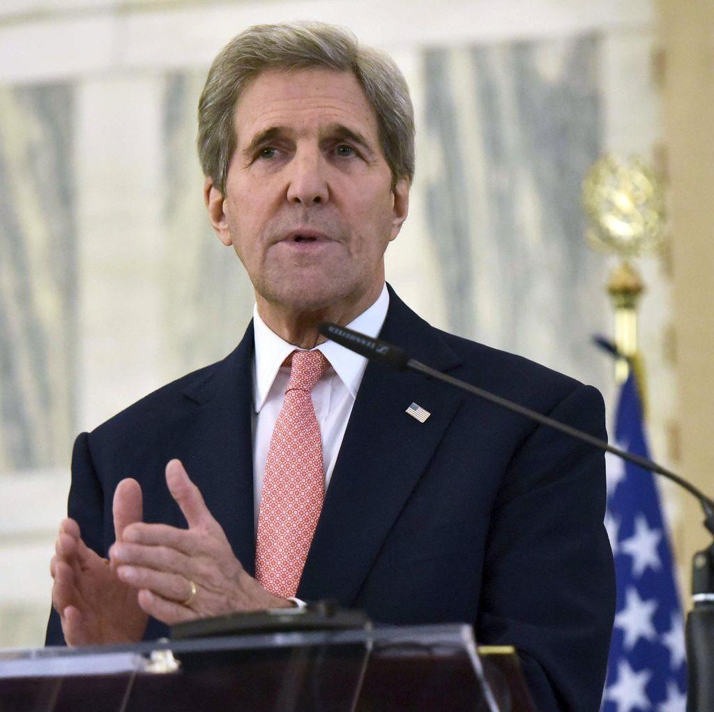 Menlu AS John Kerry Marah Atas Serangan di Aleppo Suriah