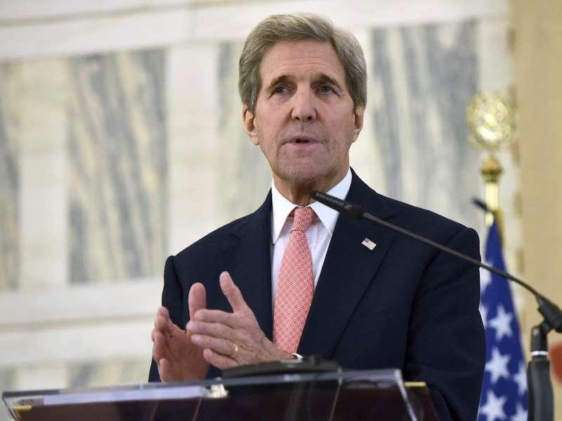 Wapres AS John Kerry Marah Terhadap Serangan di Aleppo, Suriah