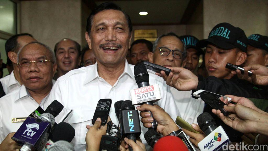 Menko Polhukam dan Sejumlah Menteri Bahas Isu Terorisme Hingga Revisi UU KPK