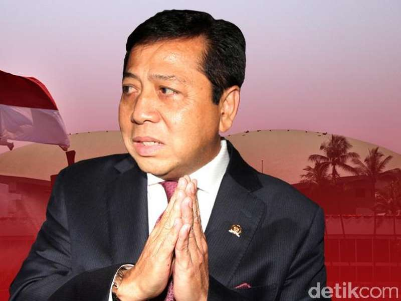 Novanto Didorong Jadi Ketua DPR Lagi, Politikus Hanura: Malu Dong!