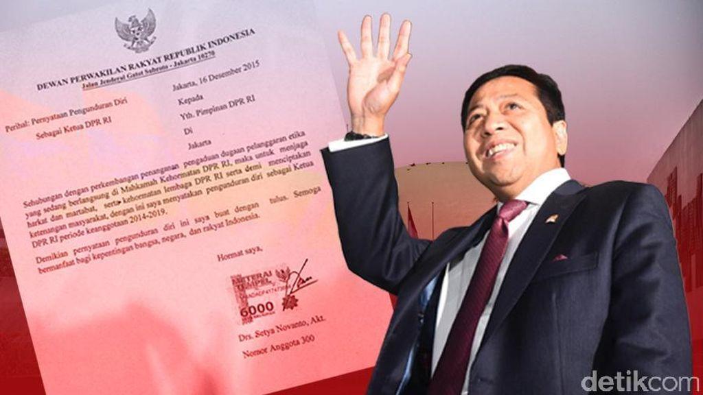 Nama Novanto Dipulihkan, MKD Tak Bisa Bedakan Hukum dan Etika!