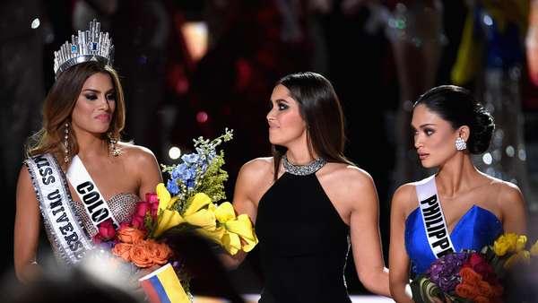 Wajah Sedih Ariadna Gutierrez Batal Jadi Miss Universe 2015