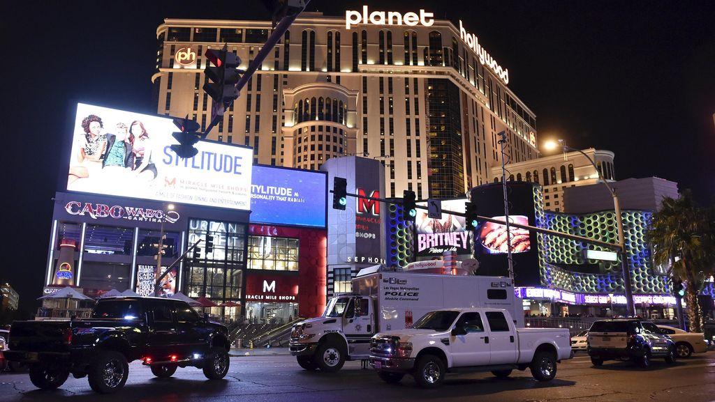 Mobil Tabrak Pejalan Kaki di Las Vegas Bukan Terorisme, Tapi Disengaja