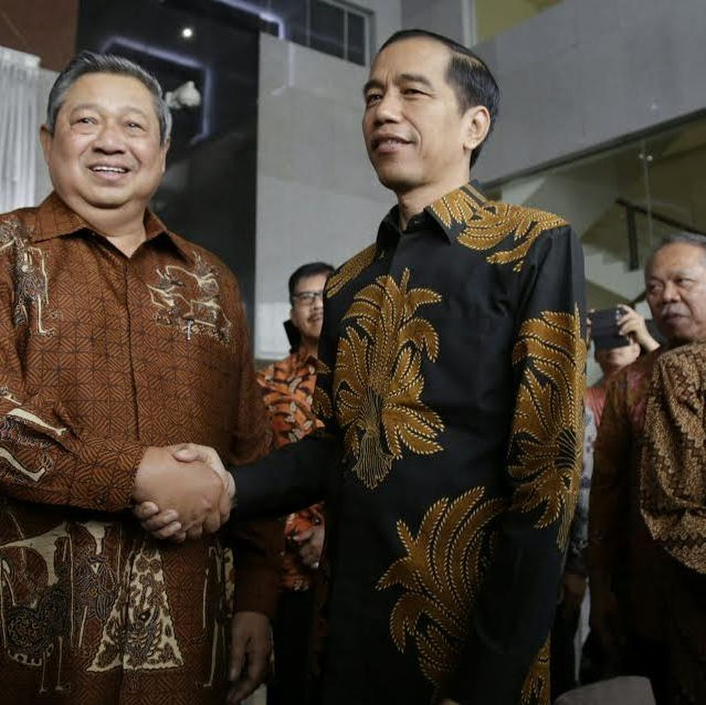 SBY: Saya Gembira Pemerintah Siap Dikritik, Selamat Bertugas Presiden Jokowi