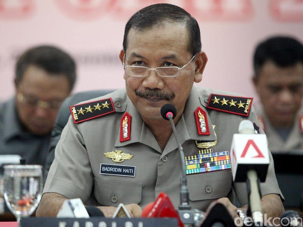 Kapolri: 22 Terduga Teroris Ditahan Terkait Bom Thamrin