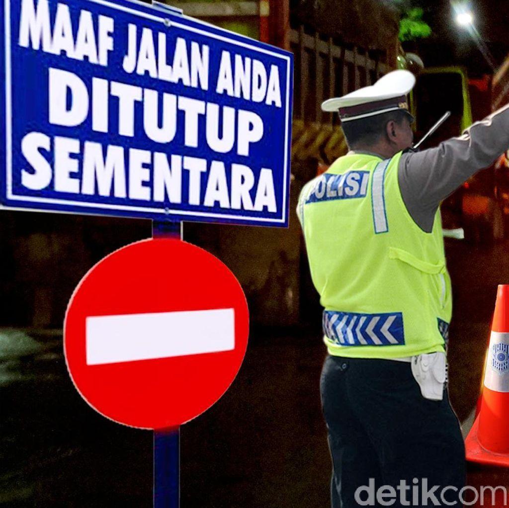 Ini Pengalihan Lalin Pada Malam Pergantian Tahun di Semarang