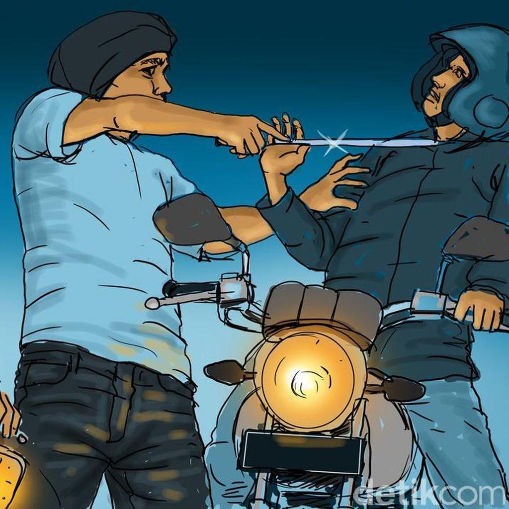Digebuk Korban Pakai Helm, Begal di Pulogebang Ditangkap Warga