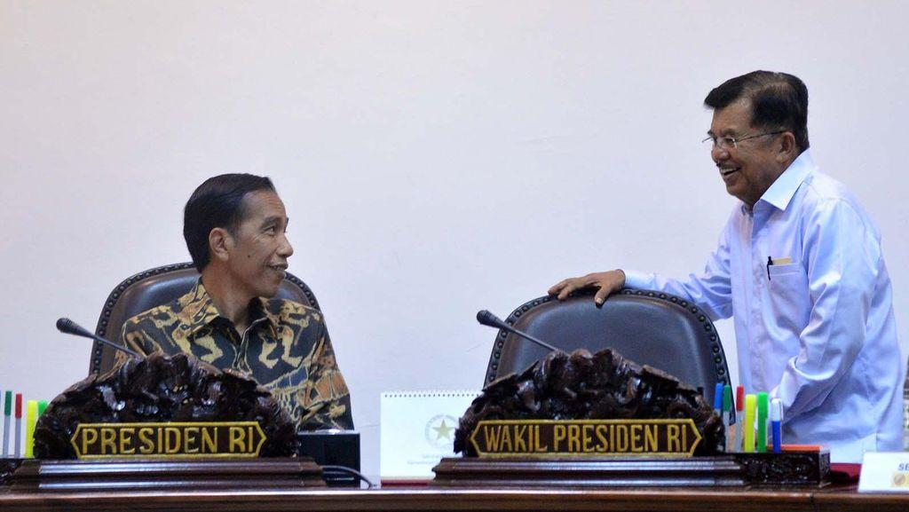 JK Cerita Pembagian Tugas dengan Jokowi