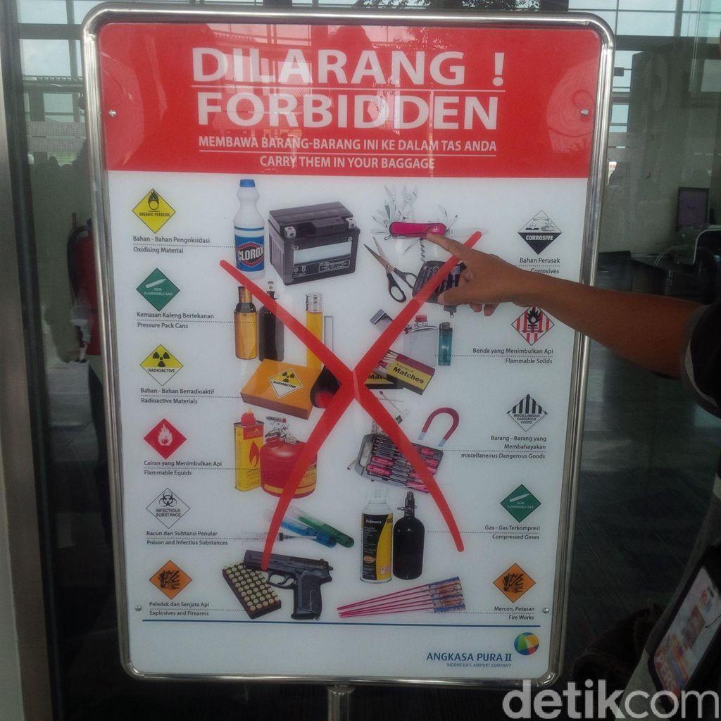 Bawa Narkoba di Topi, Oknum Paspampres Diamankan di Bandara Kualanamu