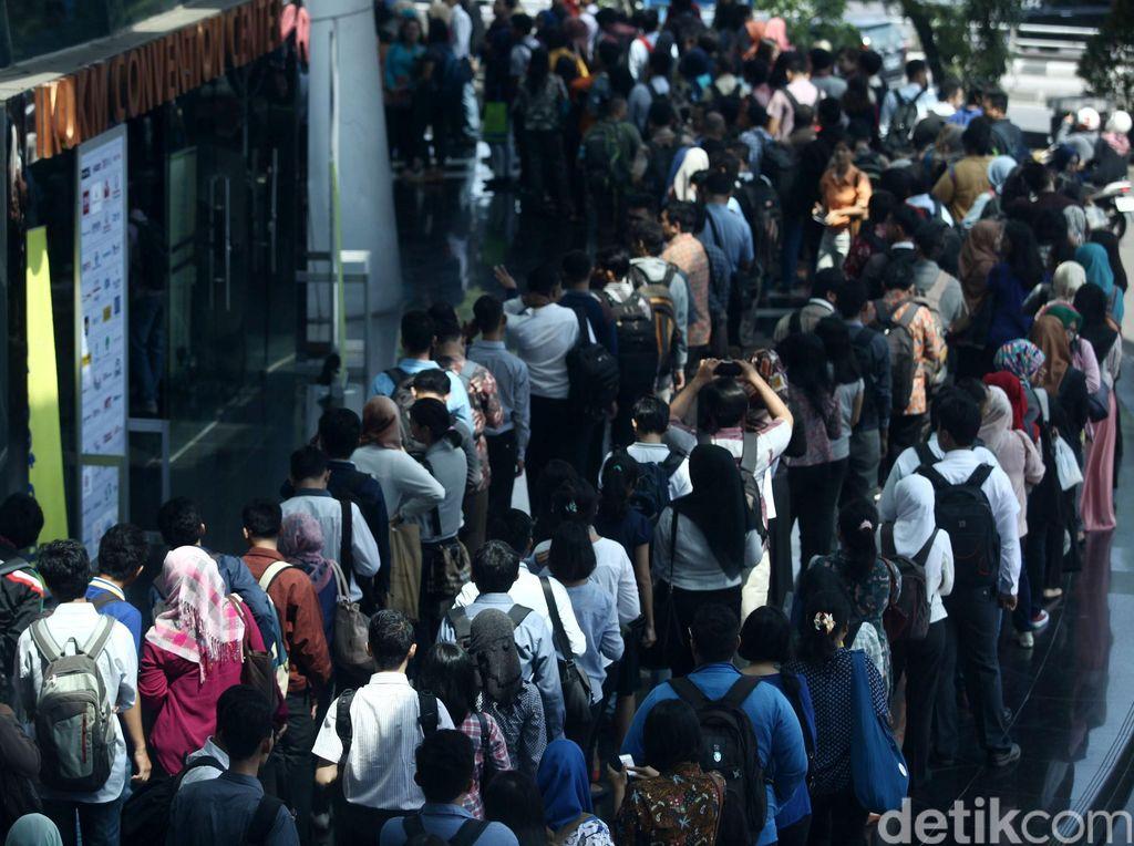 Jumlah Pengangguran di RI Berkurang 430.000 Orang