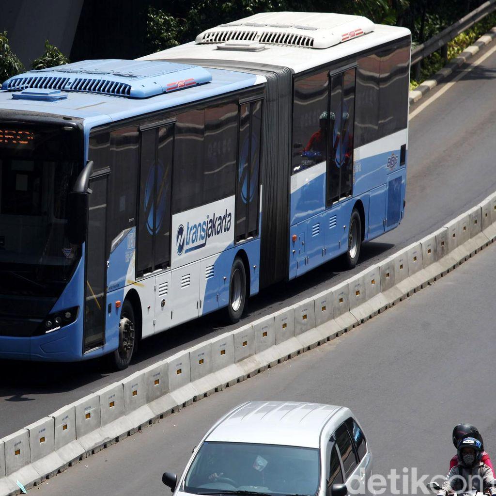 Armada Bus TransJakarta Akan Ditambah di Jalur Uji Coba Ganjil-Genap