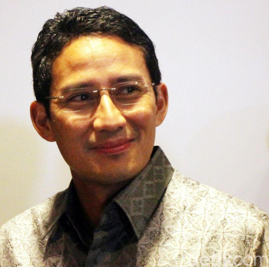 Sapa Sandiaga Uno di HUT Gerindra, Prabowo: Ini Gubernur Kita!