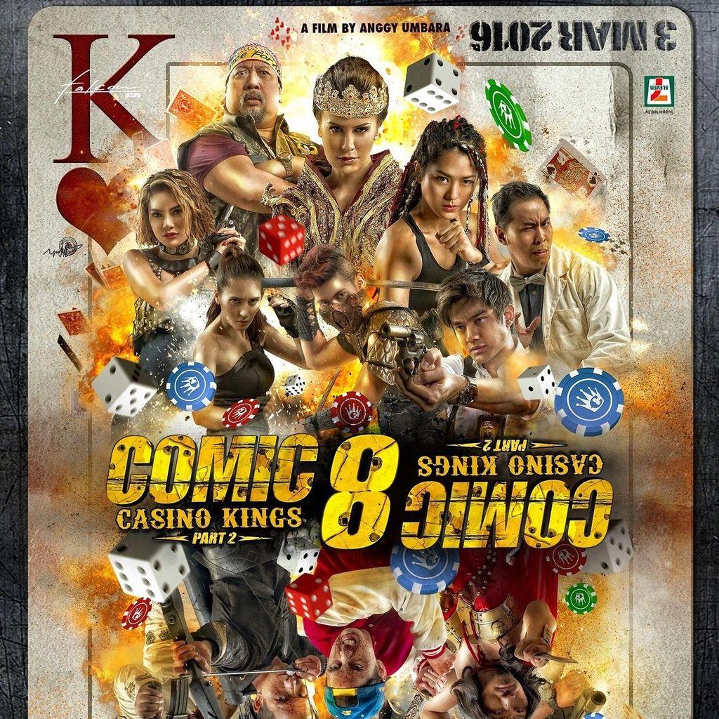 Comic 8: Casino Kings Part 2, Menjawab Teka-teki di Bagian Pertama