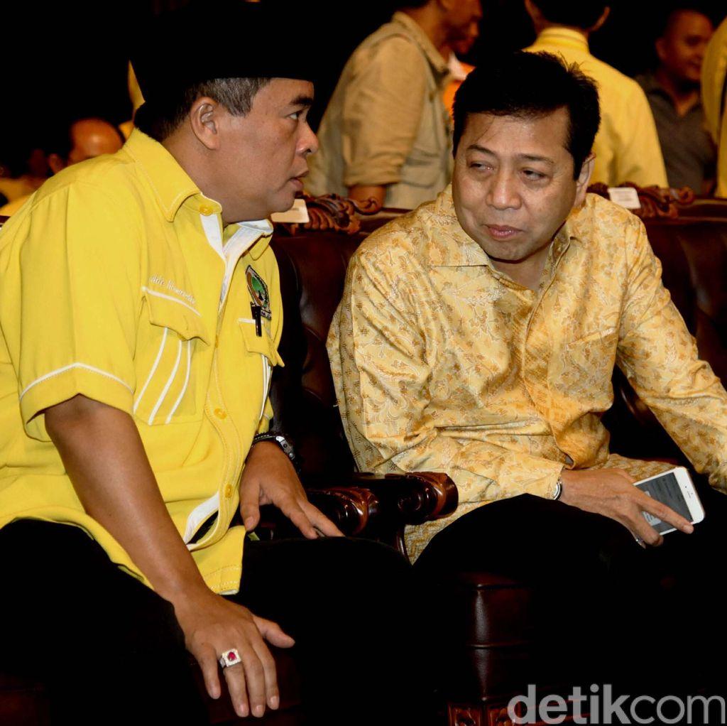 Ade Komarudin Diganjal, Bambang Soesatyo Membela