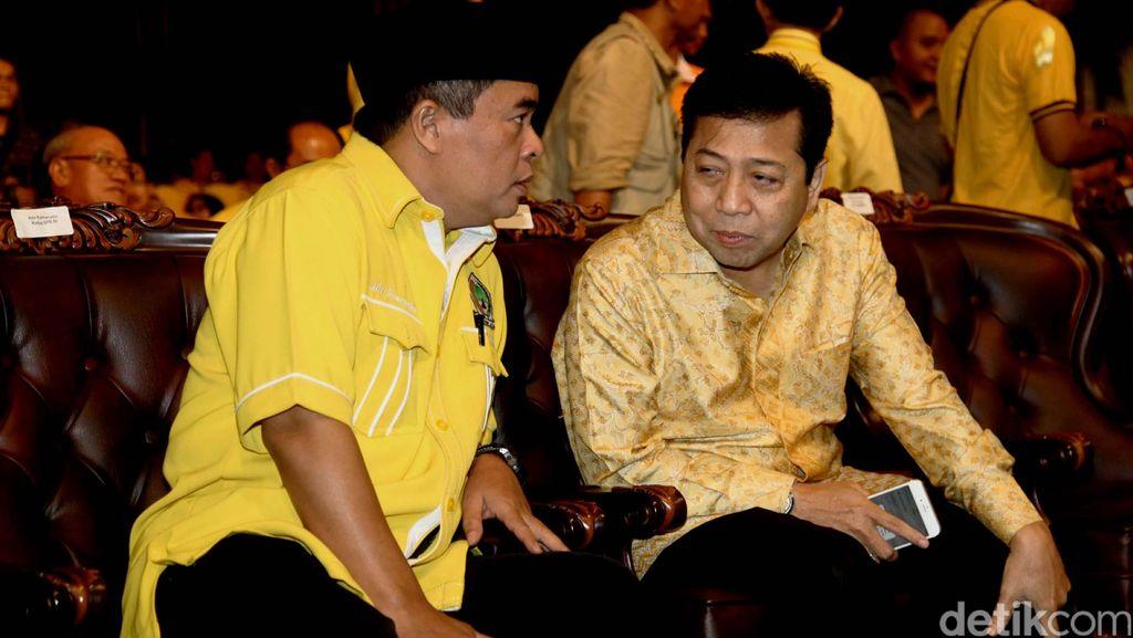 Ridwan Bae: Akom Boleh Jadi Caketum Golkar Tapi Mundur dari Ketua DPR