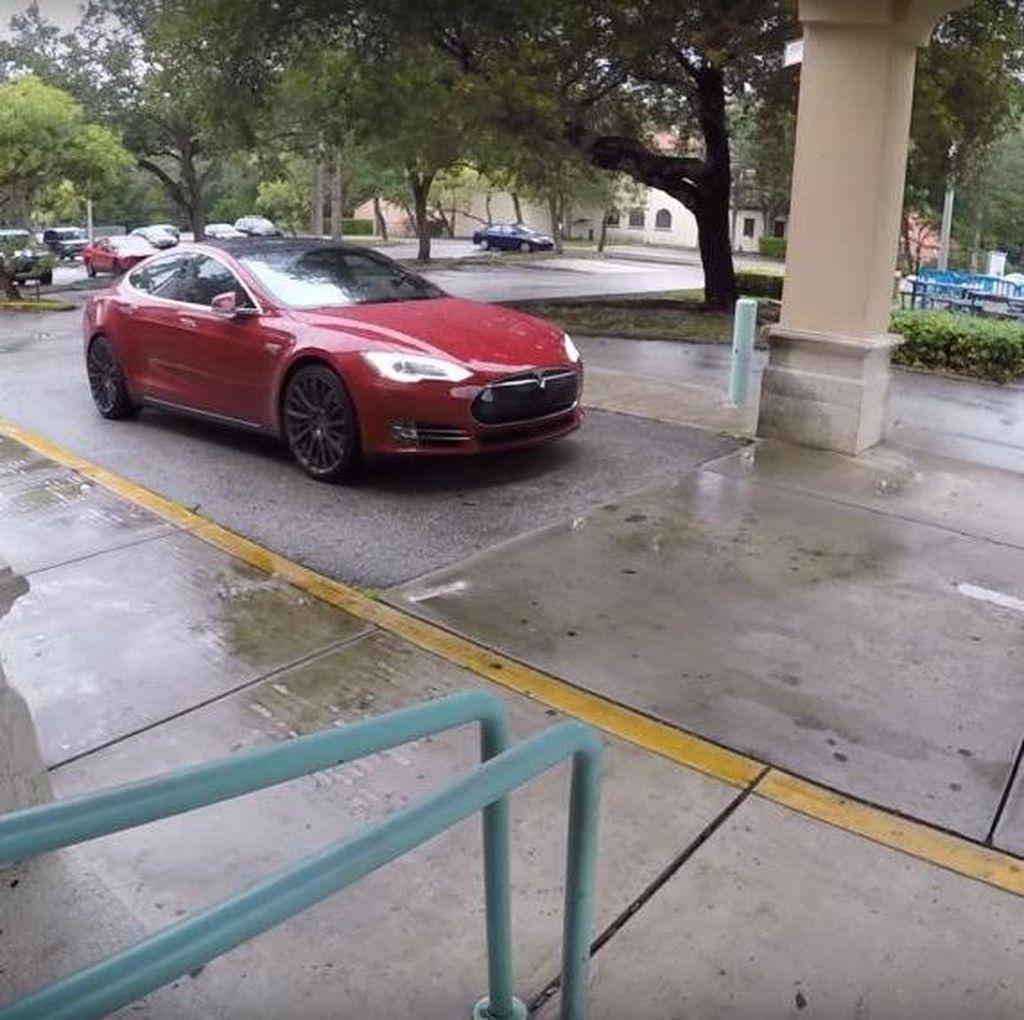 Pemilik Tesla Model S: Fitur Autopilot Bisa Selamatkan Pejalan Kaki