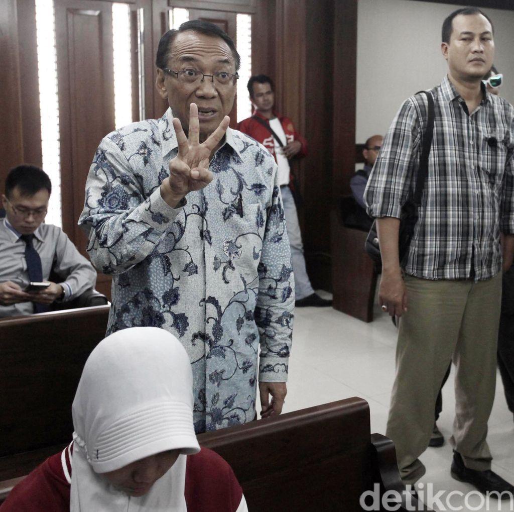 Jero Wacik Divonis 4 Tahun Penjara dan Wajib Kembalikan Rp 5 Miliar ke Negara