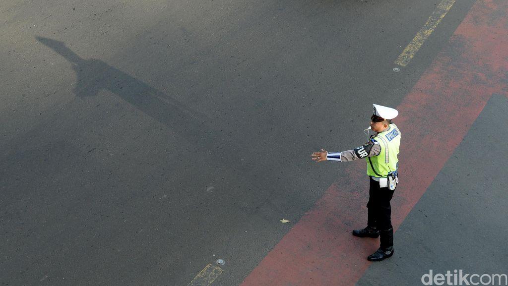 Antisipasi Kecelakaan, Dishub Pangkalpinang Sebar Ratusan Traffic Cone ke Sekolah