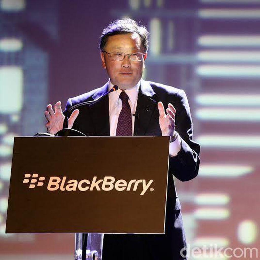CEO Beri Sedikit Bocoran Handset Baru BlackBerry