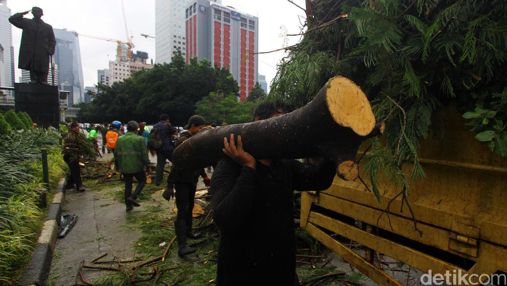 Dimana Tanggung Jawab Dinas Pertamanan DKI Jakarta?